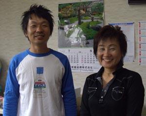 晶子さんとツーショット