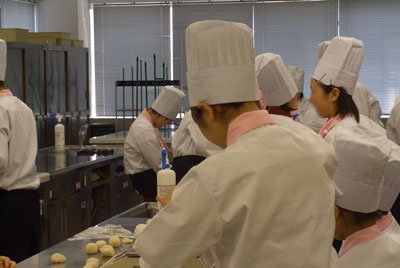 岡山ビジネスカレッジ授業風景
