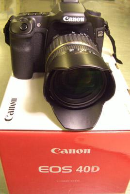 CANON EOS 40D購入