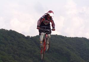 BMX日本チャンピオン三輪郁佳