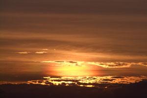 鷲羽山夕焼け