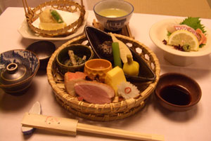 倉敷 御園旅館の料理