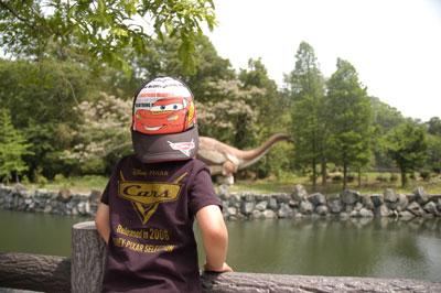 恐竜と五代目