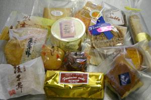 綾子舞タカハシのお菓子達