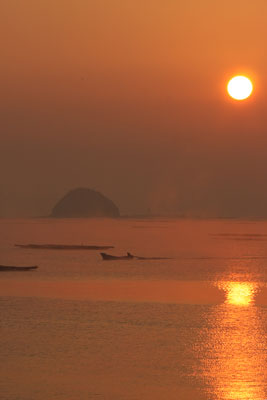 瀬戸内の海霧