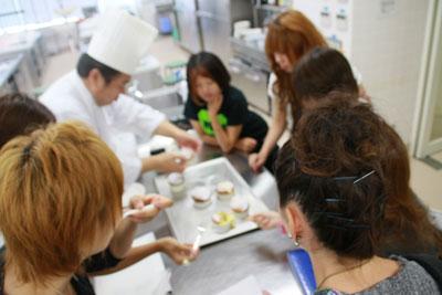 岡山ビジネスカレッジ和菓子
