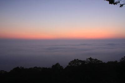 三次高谷山の雲海