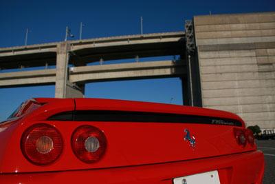 フェラーリと瀬戸大橋