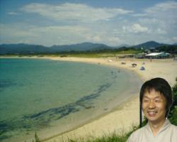 久里浜は海水浴大人気