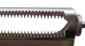 特殊加工をした串刃形状
